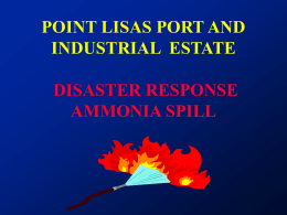 point lisas industrial estate occupational health facility