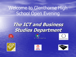 Welcome to Glenthorne High School Open Evening
