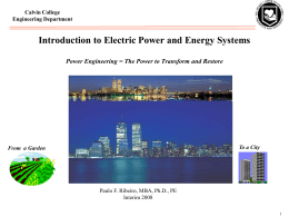 Introduction to Power System