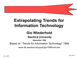 Trends for the Information Technology Industry