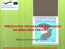 Diapozitiv 1 - Medicinska fakulteta