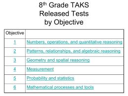 8th Grade TAKS