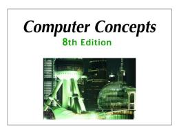 Computer Concepts 8
