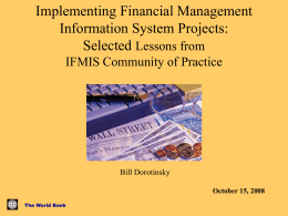 Implementing Financial Management Information Systems