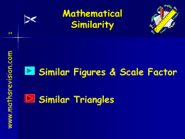 Scale factors - Mathsrevision.com