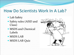 Lab Safety PP