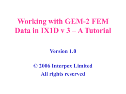 Working with GEM-2 Data in IX1D v 3