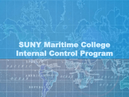 Internal Control Training
