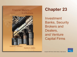Investment Banking Chapter 23