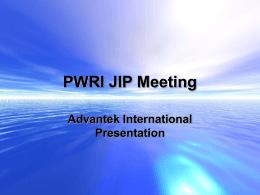 No Slide Title - Advantek International
