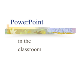 How to make a PowerPoint show