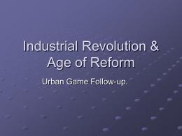 Industrial Revolution Notes World History