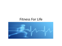 Chapter 6 Fitness For Life Review