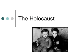 The Holocaust PPT
