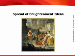 5.2 enlightenment ideas spread