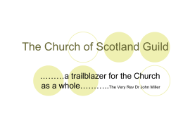 Action Pack - The Church of Scotland