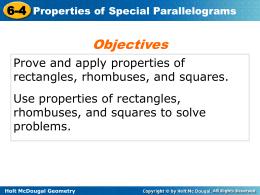 Holt McDougal Geometry 6-4