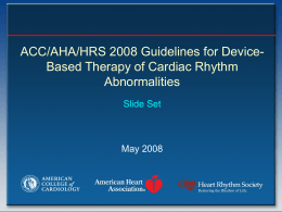 DBT Slide Set - American College of Cardiology