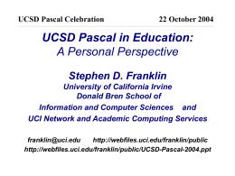 PowerPoint - UCSD Jacobs School of Engineering