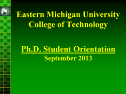 - Eastern Michigan University