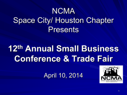 2014-04-10 NCMA_SB - National Contract Management