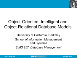 Slides from Lecture 24 - Courses - University of California, Berkeley
