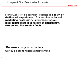 Honeywell Safety Products - Alberta Industrial Fire Protection
