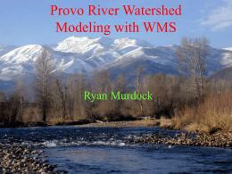 WMS Investigates Provo, Utah