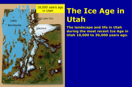 Ice Age PPT - Vincent WillowCreek History