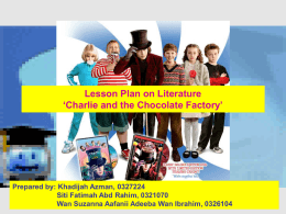 Charlie and the Chocolate Factory Total Time