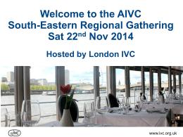 London - AIVC Benefits (ppt)