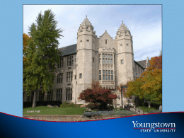 Part-Time Faculty Training - Youngstown State University