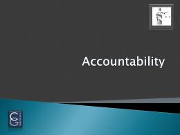 8 - Accountability - CGLegalServices