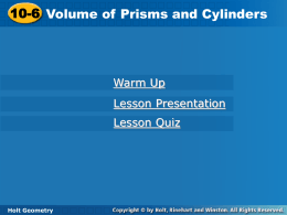 Volume of Prisms and cylinders.ppt