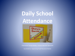 Daily School Attendance - Charles County Public Schools