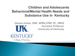 Integrating Mental Health in Pediatric Primary Care