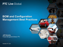 BOM and Configuration Management Best Practices