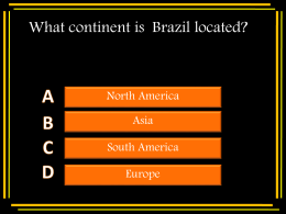 REVIEW QUESTIONS (FACTS ABOUT BRAZIL)