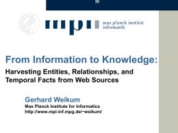 Slide - Max Planck Institute for Informatics