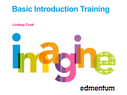 Study Island - Basic Introduction Training