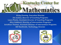 zip - Kentucky Center for Mathematics