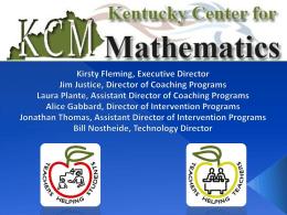 zip - Kentucky Center for Mathematics
