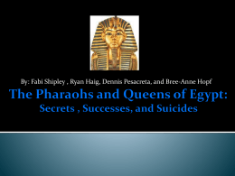 Famous Egyptian Pharaohs and Queens - Egypt7-4