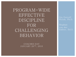PW Effective Discipline Practices