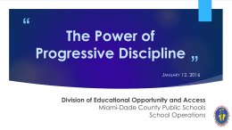 Presenter - (DEOA) Division of Educational Opportunity and Access