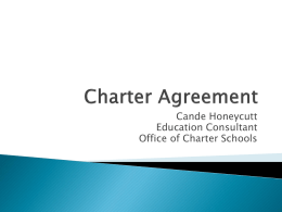 Charter Agreement Presentation_March 2015