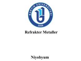 Sunu 5 - Niyobyum