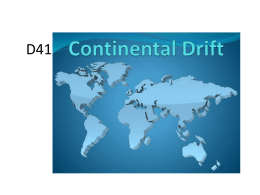 D41 Continental Drift