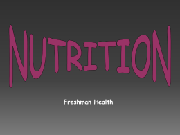 Nutrients - Glassboro Public Schools