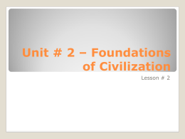 Foundations - Lesson # 2 - Distribution of Power.ppt